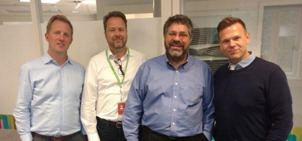 OJ Winge, Snorre Kjesbu, Dave Michels, and Rowan Trollope
