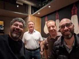 Dave, Hardy Myers, Dennis Kozak, and Anthony Bartolo